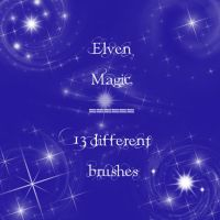Elven Magic by rL-Brushes