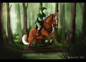 [Zelda] On the way to forest temple by Esquitax