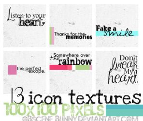 icon textures 007 by obscene-bunny