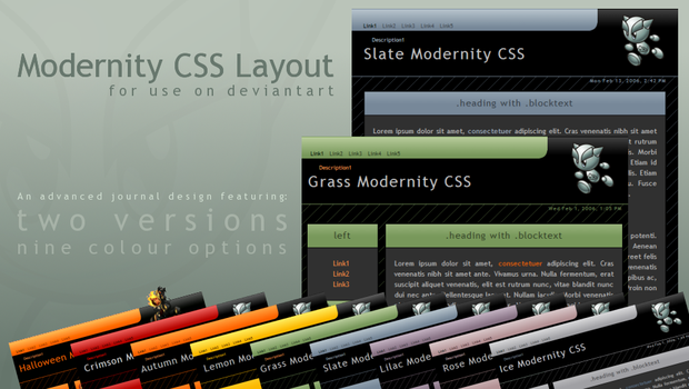 Modernity Candy CSS v.1.2.2 by ClaireJones