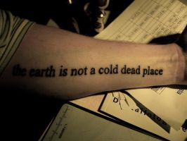 Earth is Not a Cold Dead Place by eriksa