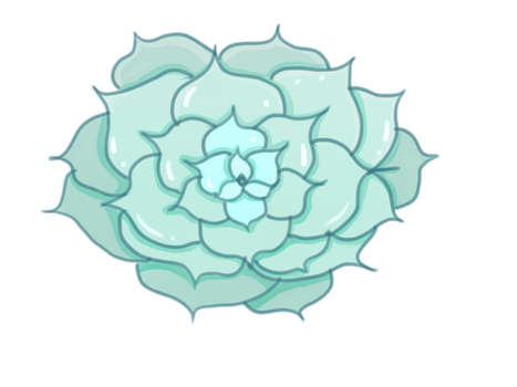 Transparent Succulent by Prinzzez-Kitten