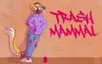 [COMMISSION] Trash Mammal by DokGilda
