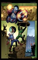 Captain America Page Coloring by Celestial-83