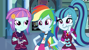 [MLP:EG] The Three Blue Stooges by thevenomousguy2502