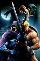He-man cover by JPRart