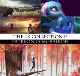 New Patreon content - the 4K collection #1 by Montano-Fausto