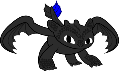 Toothless by imageconstructor