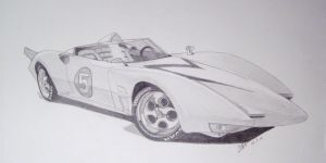 Speed Racer Mach 5 by professorwagstaff