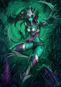 Zyra New Skin Headhunter by Tonig2
