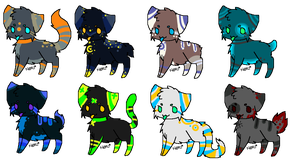 More Meow Adopts (Closed) by Sanity-Adopts