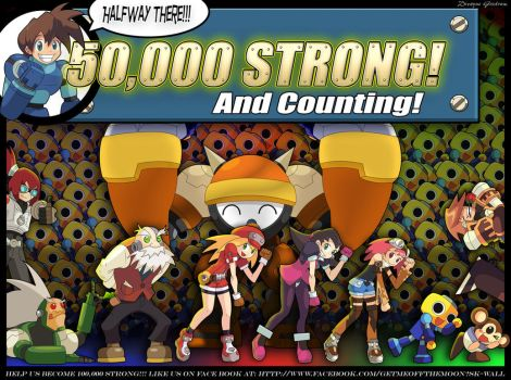 MEGAMAN LEGENDS 3 - 50,000 STRONG by MightyGoodrum