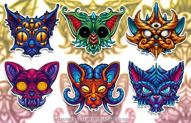 PRISM CATS - New Redbubble Designs by Nayro
