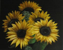 Sunflowers by cgoulao
