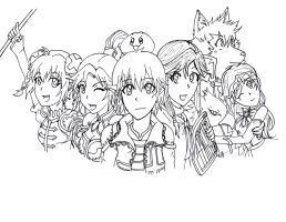 OddSquad-Lineart by CaptainMika