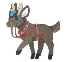 the lamest reindeer of all by catdoq