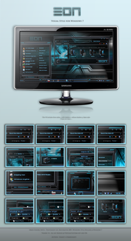 EON Theme for Win7 by Itsmesusant