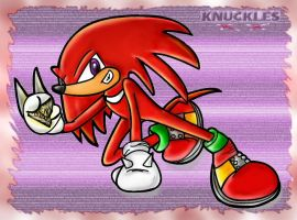 Knuckles The Echidna by xKnucklesx