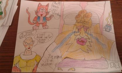 Lectors Revenge on Jiemma the Jerk Again by MEGARAINBOWDASH2000
