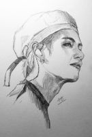 Taehyung - sketch by for-infinity