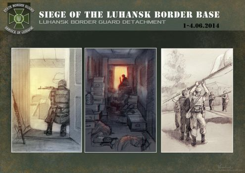 Page 3 - Siege of the Luhansk border base by Noldofinve