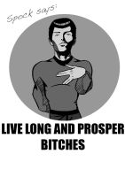 Spock Says by dr-spleenmeister