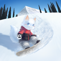 [c] Snowboard by teuga