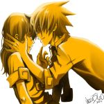 Soul and Maka: In for the kiss by Jazzie560