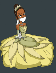 Simple Tiana by REDdumpster