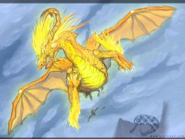 Golden Pursuit by Ankoku-Flare