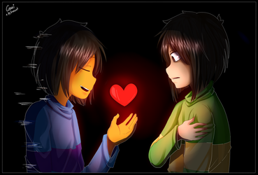 Let me give you a second chance | Glitchtale by CamilaAnims
