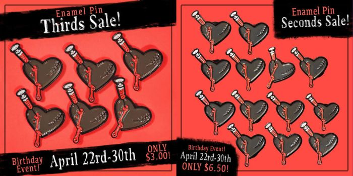 Seconds and Thirds Sale! by KodiKat