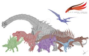 Dinobots Team by julius2611