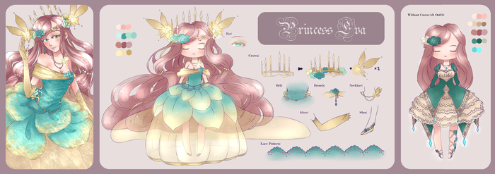 The Princess Project: Princess Eva by copperjellyroll