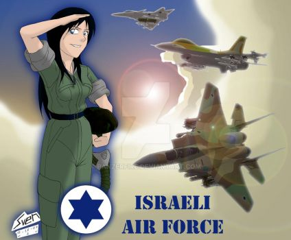 Israeli Air Defence Force by Panzerfire