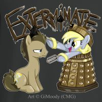 T-Shirt - EXTERMINATE!!! by GiMoody