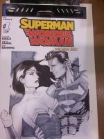 Superman Wonder Woman convention commission by Ace-Continuado