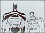 Batman and Superman - Animated series by BrunoTito