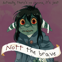 DnD Critical Role: Nott the Brave by AkitheFrivolicious