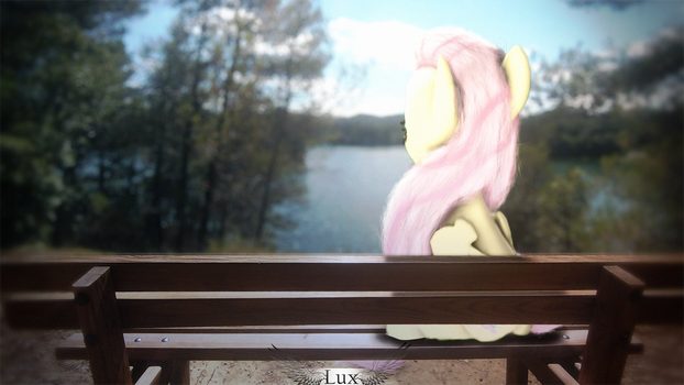 butterfly of the lake [PONY SFM IRL] by LuxrayStark