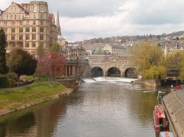 Bath Bridge by AJChimaera