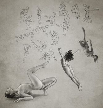 Daily practice 01 27 2014 Figures by Eclectixx