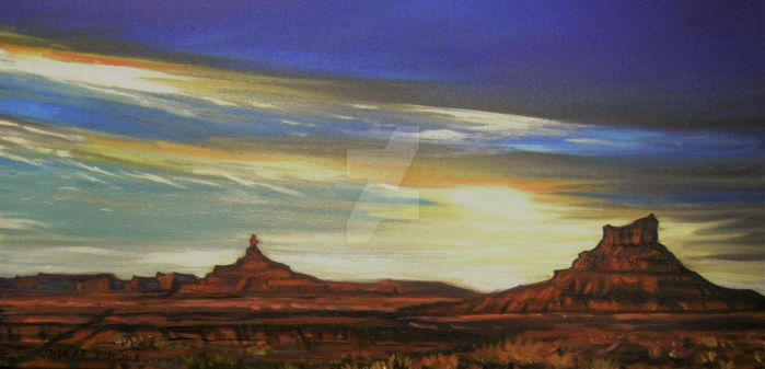 Valley of the Gods by HouseofChabrier