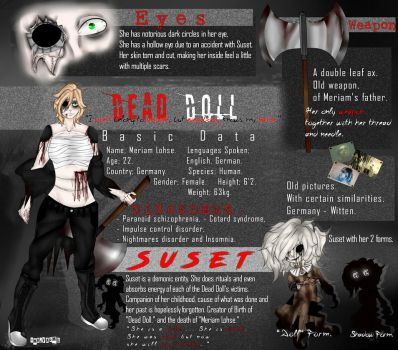 Dead Doll - Reference Sheet (Remodeling) by MrVapml