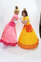 Peach and Daisy 3 'Naka-Kon 2013' by BeCos-We-Can-Cosplay