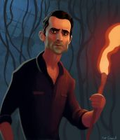 Richard Alpert by Neanderthal-Jam