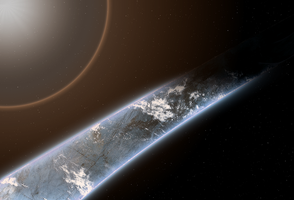 Halo Ring Planet (Flare) by KILLthatThing