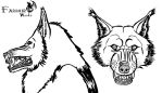 Want to be a werewolf? Design your own mask! by Farumir