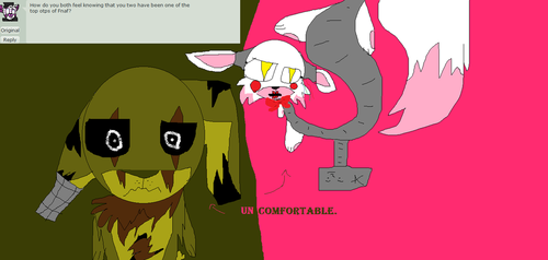 Ask Springtrap And Mangle - Ask 3 by HowlingWolfChain