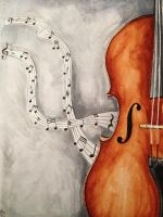Cello by TheHopelessDreamer